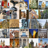Landmarks of Prague Royalty Free Stock Photo