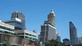 Landmarks in the Ratchaprasong area of Bangkok Stock Photo