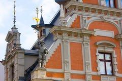 Landmarks of Riga, Latvia royalty free stock images