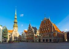 Landmarks of Riga, Latvia royalty free stock photos