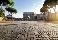 Landmarks of Rome Royalty Free Stock Photography