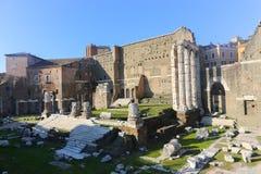 Landmarks of Rome Stock Photos