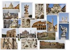Landmarks of Rome Stock Photography