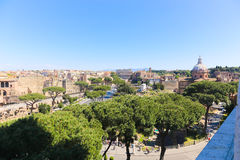 Landmarks of Rome - Italy. Beautiful View of Landmarks of Rome - Italy Royalty Free Stock Images