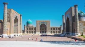 Landmarks of Samarkand, Uzbekistan