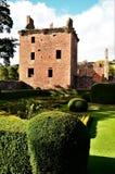 Landmarks of Scotland - Ancient Caste in Edzell royalty free stock image