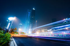Landmarks of shanghai city Stock Photos