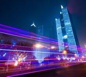 Landmarks of shanghai city Stock Image