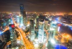 Landmarks of shanghai city Royalty Free Stock Image