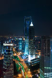 Landmarks of shanghai city Stock Photos