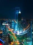 Landmarks of shanghai city Royalty Free Stock Photos