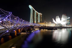 Landmarks in Singapore Royalty Free Stock Photos