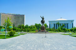 The landmarks of Tashkent Stock Photography