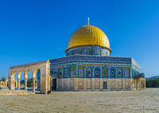 The landmarks of the Temple Mount Stock Photography