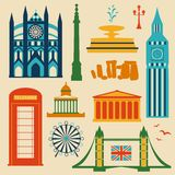 Landmarks of United Kingdom Stock Photos