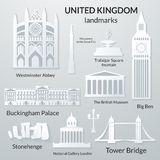 Landmarks of United Kingdom Stock Images