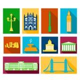 Landmarks of United Kingdom Stock Images