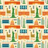 Landmarks of United States of America vector Stock Photo