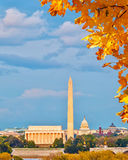 Landmarks in Washington DC Stock Image
