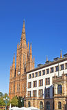 Landmarks of Wiesbaden Royalty Free Stock Photography