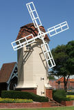 Landmarks - Windmill. Dutch windmill stands as an icon of the suburb stock photo