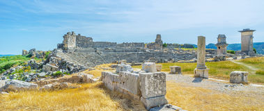 Landmarks of Xanthos Stock Images