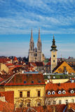 Landmarks of Zagreb Stock Photography