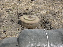 Landmines in South Sudan Royalty Free Stock Images