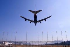 landning Arkivbild