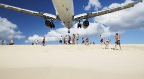 landning Arkivfoton