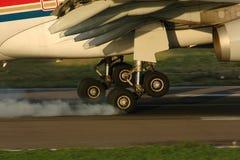landning Royaltyfri Foto