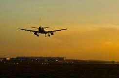 landning arkivfoto