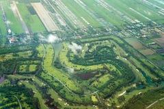 Landning Bangkok Fotografering för Bildbyråer
