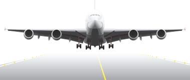 landningdel för 2 flygplan Arkivfoto