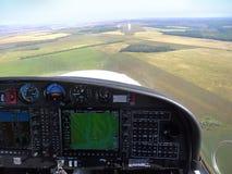 Landningdiamant flygplan för 40 NG Royaltyfria Bilder
