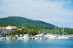 Landningetapp i Adriatiska havet Royaltyfri Foto