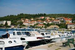 Landningetapp i Adriatiska havet Royaltyfri Bild
