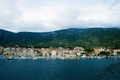 Landningetapp i Adriatiska havet Fotografering för Bildbyråer