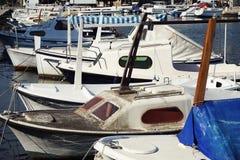 Landningetapp i Adriatiska havet Resa och segla Royaltyfria Foton