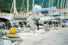Landningetapp i härliga Adriatiska havet Royaltyfria Bilder