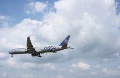 Landningflygplan Royaltyfri Foto