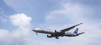Landningflygplan Royaltyfri Bild