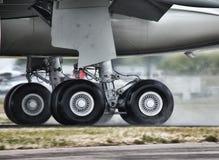 Landningflygplan Royaltyfria Foton