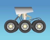 Landningkugghjul Fotografering för Bildbyråer