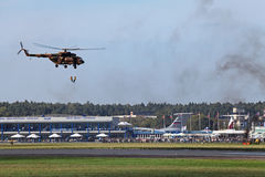 Landningoperation Royaltyfri Fotografi