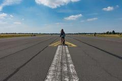 landningsbana Arkivfoto
