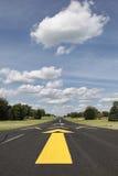 landningsbana lantliga sydliga wisconsin fotografering för bildbyråer