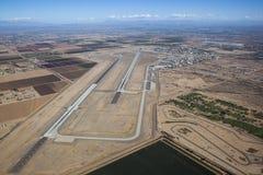 Landningsbanor på Luke arkivbild
