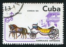 Lando. CUBA - CIRCA 1981: stamp printed by Cuba, shows Lando, circa 1981 stock photos