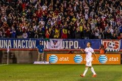 Landon Donovan #10 auf US-International-Freundschaftsspiel Lizenzfreie Stockfotos